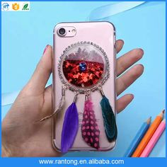latest cell phone case tpu 1.5mm cover led selfie phone shell wholesale for iphone 7