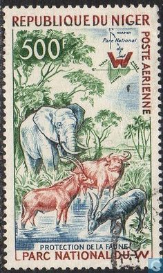 1960 Niger - Wildlife protection