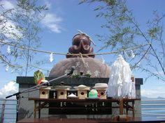 すいとっと祭り-タコ供養 熊本 grave of octopus, octupus memorial service, kumamoto, japan
