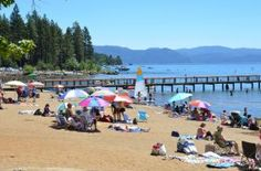 Kings Beach State Park - Lake Tahoe. I would love to take the whole family!