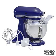 KitchenAid Artisan 5-qt. Stand Mixer - I love mine - and it's in this color!