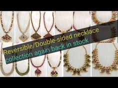 Shri's Silver jewellery Collections - YouTube Silver Wedding Jewelry, Gold Plated Bangles, Royal Jewels, Tassel Necklace, Jewelry Collection, Jewelery, Earrings, Collections, Youtube