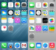 iOS 8 vs iOS 7 Walkthrough - Home Screen / Some great info.   If you haven't heard what's new this is informative.