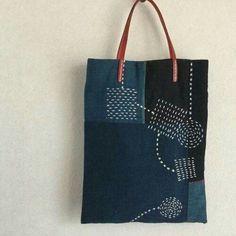 Linen heart tote bag with appliqué, Sashiko Hand embroidered tote, Valentine tote bag, mother's day Embroidery Bags, Japanese Embroidery, Shashiko Embroidery, Boro Stitching, Diy Tote Bag, Art Bag, Linen Bag, Denim Bag, Fabric Bags