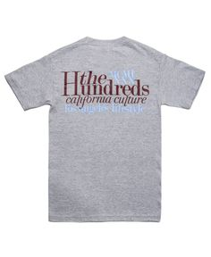 The Hundreds - Tops T-Shirt (Grey)