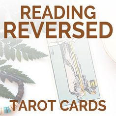 Learn how to read reversed tarot cards with these tarot tips for beginners. Learning the reversed (upside-down) meanings doesn't have to be so hard!