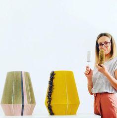 Diy Crafts For Home Decor, Home Decor Wall Art, Paper Lampshade, Diy Interior, Lamp Sets, Lamp Shades, Lamp Design, Bohemian Decor, Home Lighting