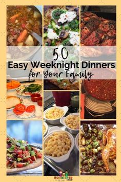 50 Easy Weeknight Dinners for Your Family Vegan Recipes Easy, Easy Dinner Recipes, Indian Food Recipes, Dinner Ideas, Cooking Recipes, Fast Dinners, Easy Weeknight Dinners, Easy Meals, Healthy Family Meals