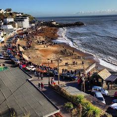 Ventnor Beach in Ventnor, Isle of Wight