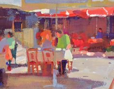 Lena Rivo's Painting Blog: Lunch Time - Sesimbra