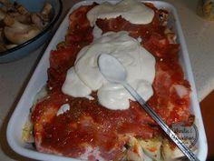Wanilia i Kardamon: Karkówka pieczona z ziemniakami i pieczarkami Calzone, Tortellini, Mozzarella, Lasagna, Steak, French Toast, Food And Drink, Menu, Dinner