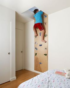 rock wall kids room