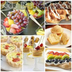 Great brunch ideas for kids! See more party ideas and recipes at CatchMyParty.com. #recipes #kids