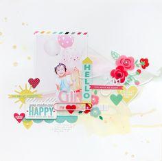 Hello Girl, You Make Me Happy! - Scrapbook.com