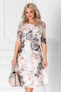 Rochii cu Imprimeuri Floral, Dresses, Fashion, Clothing, Vestidos, Moda, Fashion Styles, Flowers, Dress