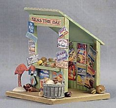 """Seas the Day"" Market Stall"