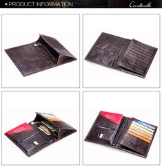 Group Of Christmas Trees Leather Passport Holder Cover Case Blocking Travel Wallet