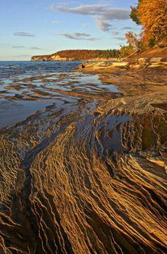 Lake Superior - Near Mosquito Harbor - Pictured Rocks National Lakeshore