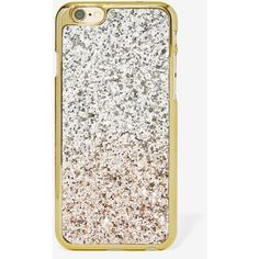 Glitter Party Ombre� iPhone 6 Case ($20) ❤ liked on Polyvore featuring accessories and tech accessories