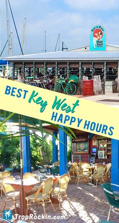 Key West Food & Drink Deals - Happy Hour Updated April Best Key West Happy Hours for Drinks & FOOD! Save money and fill up at these top spots during happy hour to make your Key West vacation more affordable and still eat and drink the best on the island. Key West Florida, Florida Keys, Florida Beaches, Fl Keys, Florida Vacation, Florida Travel, Travel Usa, Vacation Destinations, Vacation Spots