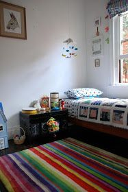 the boo and the boy: STRIB Ikea carpet in kids' rooms