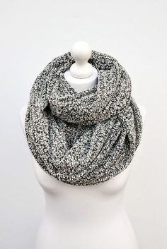 This oversized infinity scarf.   22 Insanely Cosy Scarves To Snuggle Up In This Autumn