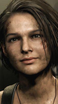 Valentine Resident Evil, Resident Evil Girl, Resident Evil 3 Remake, Jill Valentine, Resident Evil Franchise, Resident Evil Collection, Video Games Girls, Geek Culture, Girl Face