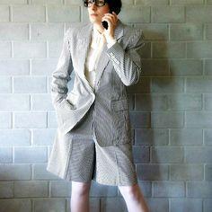 vintage ralph lauren striped short suit  by searchandrescue, $64.25