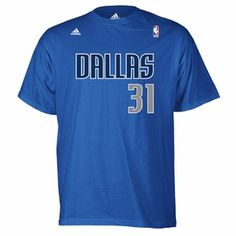 Dallas Mavericks adidas Terry Jersey Tee - Royal - Click to enlarge