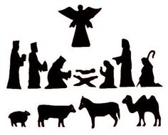 Nativity Silhouette Patterns -