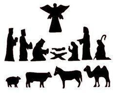 Nativity Silhouette Patterns -