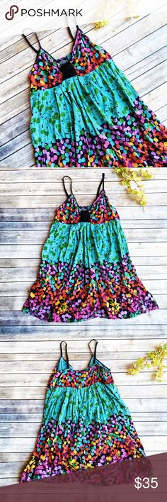 MOVING SALE  Angie Multicolor Festival Sundress ★ NWOT, perfect condition.  ★ This Angie dress is super bright and colorful, perfect for summer and festival season! Truly amazing dress, get it now!  ★ 100% Cotton. ★ NO TRADES!   ★ NO MODELING!  ★ YES REASONABLE OFFERS! ✅ ★ Measurements available by request and as soon as possible.  Angie Dresses