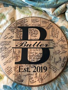 Bourbon Barrel head wedding guest book guestbook w Wood Guest Book, Rustic Wedding Guest Book, Guest Book Sign, Wedding Book, Wedding Signs, Fall Wedding, Diy Wedding, Wedding Ideas, Guest Book Ideas For Wedding