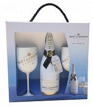 3628ab28307850 Prachtig mooie geschenkdoos met luxe handvat om de Moet   Chandon Ice  Imperial champagne