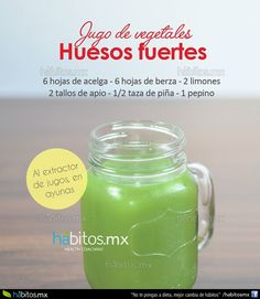 Hábitos Health Coaching   JUGO DE VEGETALES PARA HUESOS FUERTES