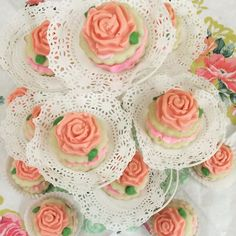 TEA PARTY! #desserttable  #sugarcookies #icing #roses