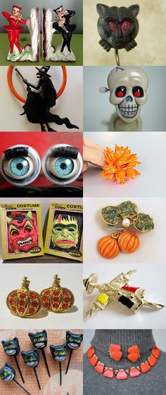 Halloween Vintage by Angela Santos on Etsy--Pinned with TreasuryPin.com