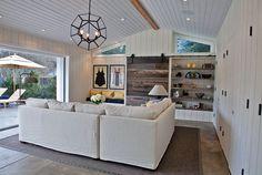 Coastal family room.