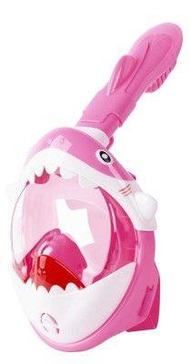 Maska šnorchlovacia Shark, celotvárová, pre deti 4+, XS, ružová Shark, Outdoor Decor, Sharks