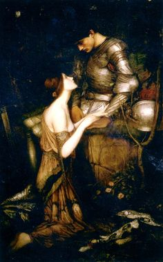 John William Waterhouse (6 April 1849 — 10 February 1917)  Lamia  Oil on canvas, 1905  57 x 36 in  Private collection