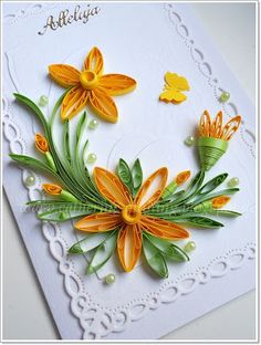 *QUILLING ~ of Catherine