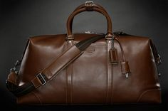 Globe trot in style with the Coach Transatlantic Carry-On ($650). Made from premium glove-tanned leather that will gain patina and character with age, this well heeled bag features two inner pockets and one outer pocket, fabric lining on the interior,...