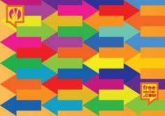 Bold Colorful Arrow Pattern Vector Background - http://www.welovesolo.com/bold-colorful-arrow-pattern-vector-background/
