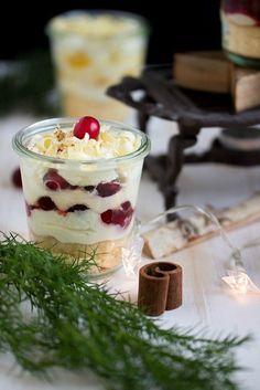 3 weihnachtliche Dessertvariationen im Glas
