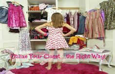 Utilize Your Closet…the Right Way! Whether your closet is large or small, walk-in or a sliding door, it's important to use your space wisely.  Too many teenagers find it easy to throw all of their clothes in their closet without actually folding them or hanging them up.  It can also be easy to throw all of your shoes in one big pi...  Read More at http://www.chelseacrockett.com/wp/lifestyle/utilize-your-closetthe-right-way/.  Tags: #Closet, #Clothes, #ColorCoded, #