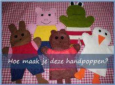 Handpoppen maken | Klas van juf Linda