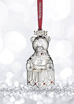Waterford 2017 Nativity Three Wise Men Ornament  2017 Crystal