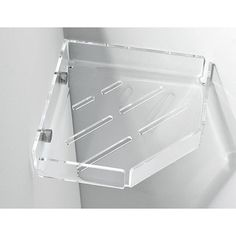 Crystal Wall Mounted Corner Soap Basket | Guest Bath | Pinterest | Wall  Mount, Corner And Guest Bath