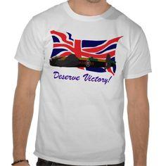 Deserve Victory! Shirts