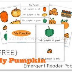 Pumpkin: Free My Pumpkin Emergent Reader Pack